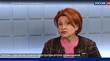 Н. Болтенко опроблемах иперспективах развития детского здравоохранения