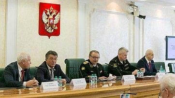 Выступление В.Озерова назаседании Межрегиональной Ассоциации субъектов РФ игородов, шефствующих над Северным флотом