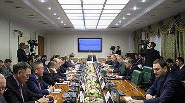 Расширенное заседание Комитета СФ поаграрно-продовольственной политике иприродопользованию. Запись трансляции от14декабря 2017г