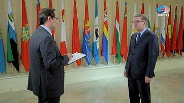 А. Майоров обобщественном Форуме ВТО