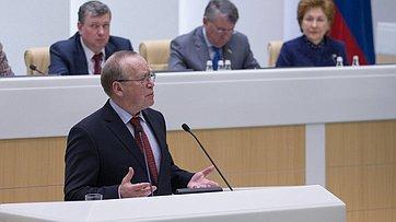 ВСФ выступил заведующий кафедрой мировой литературы икультуры МГИМО Ю.Вяземский