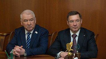 Встреча В. Матвиенко спредставителями органов власти Тюменской области