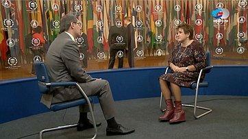 Л. Глебова о137-й Ассамблее МПС