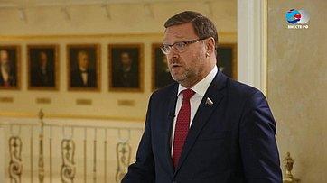 К. Косачев овыборах президента Украины