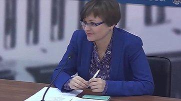 Людмила Бокова приняла участие в пресс-конференции «Итоги Единого урока безопасности в сети Интернет 2015» в пресс-центре «Парламентской газеты»