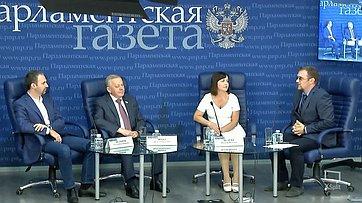 Виталий Шуба принял участие работе «круглого стола» потеме «Как изменится регулирование продажи алкоголя винтернете?» впресс-центре «Парламентской газеты»