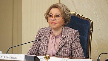 Выступление Председателя Совета Федерации Валентины Матвиенко навстрече стружениками социальной сферы села