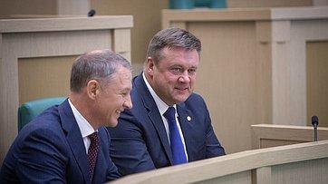 Выступление руководителей Рязанской области вСовете Федерации