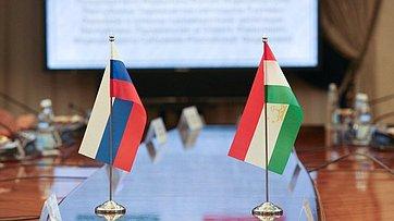Встреча Председателя СФ Валентины Матвиенко сПредседателем Маджлиси милли Маджлиси Оли Республики Таджикистан Рустами Эмомали