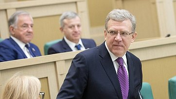 Председатель Счетной палаты РФ А.Кудрин выступил сдокладом вСовете Федерации
