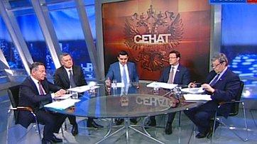 Жилье в кризис. Программа «Сенат» телеканала «Россия 24»