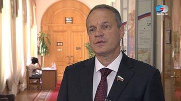 Знакомьтесь, сенатор Александр Башкин. Передача телеканала «Вместе-РФ»