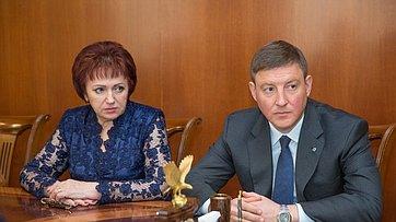 Встреча В.Матвиенко сруководством Псковской области