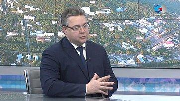 Губернатор Ставропольского края В.Владимиров оразвитии региона