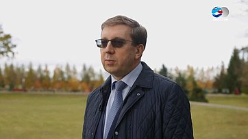 А. Майоров оV Форуме регионов Беларуси иРоссии