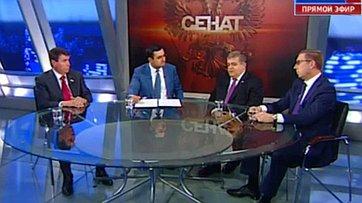 Отношения России и Турции. Программа «Сенат» телеканала «Россия 24»