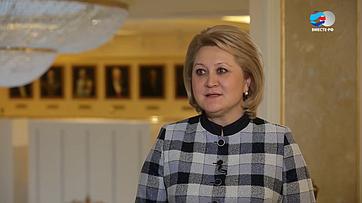 Л. Гумерова обитогах осенней сессии 2019года