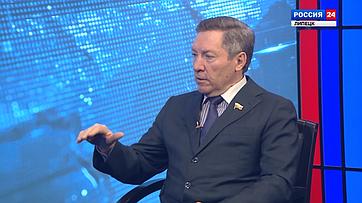 Олег Королев. Интервью каналу «Россия 24» (Липецк)