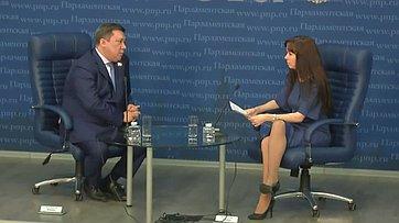 Владимир Полетаев рассказал впресс-центре «Парламентской газеты», как изменится качество пассажирских перевозок клетнему сезону