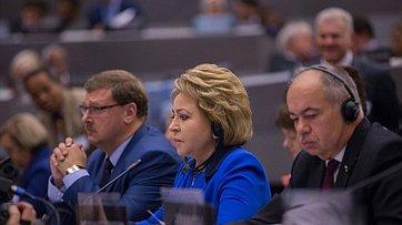Выступление Председателя СФ на135-й сессии Межпарламентского союза вЖеневе