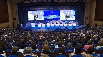 Выступление В. Матвиенко напленарном заседании Второго Форума социальных инноваций регионов
