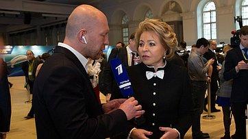 Председатель СФ оПослании Президента Федеральному Собранию