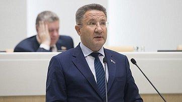 Выступление председателя чукотского заксобрания А.Маслова на421-м заседании Совета Федерации
