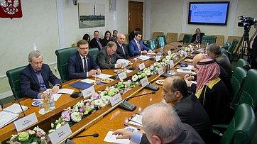 Встреча К. Косачева спредставителями внутренней оппозиции игражданского общества Сирии