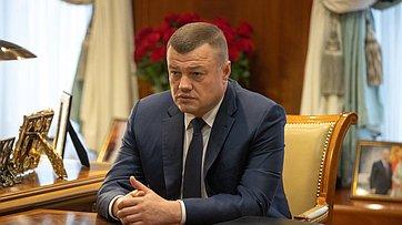 Встреча Председателя СФ сгубернатором Тамбовской области