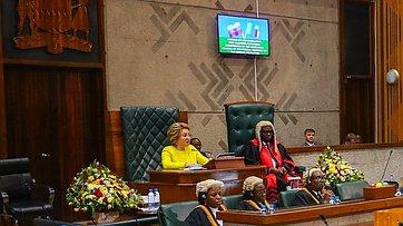 Выступление Председателя Совета Федерации В.Матвиенко назаседании Национальной ассамблеи Республики Замбии