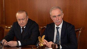 Встреча В.Матвиенко сруководителями органов власти Ульяновской области