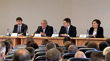 Встреча В. Штырова с представителями промышленности Республики (Саха) Якутия