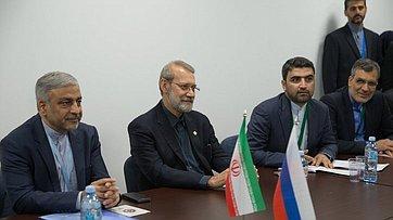 Встреча Председателя СФ В.Матвиенко встретилась сПредседателем Собрания исламского совета Ирана А.Лариджани