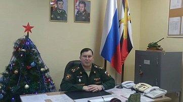 Гвардейцы-симферопольцы поздравили крымских шефов сНовым 2021годом