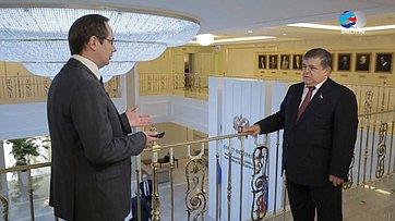 В. Джабаров опарламентских слушаний натему предотвращения вмешательства вовнутренние дела Российской Федерации