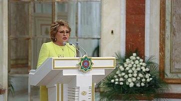 В.Матвиенко навстрече сПрезидентом Туркменистана Г.Бердымухамедовым