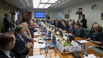 Расширенное заседание комитета СФ поаграрно-продовольственной политике иприродопользованию. Прямая трансляции от24 октября 2017г