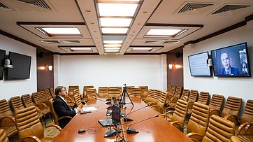 Онлайн лекция Константина Косачева натему «Постпандемический мир: право или порядок» вформате видеоконференции. Запись трансляции от27мая 2020года