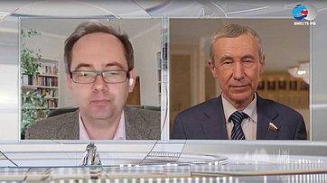 А. Климов обобъединении парламентариев всего мира вборьбе скоронавирусом