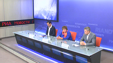 Презентация фотовыставки фонда землячества Донбасса