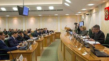 Председатель СФ выступила назаседании Президиума Научно-экспертного совета иправления Интеграционного клуба