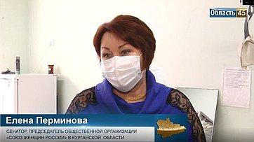 Елена Перминова: Дети зауральских медиков получили новогодние подарки