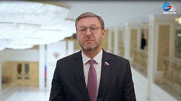 К. Косачев ороссийской помощи ивнутриполитической борьбе вСША