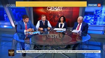Экспорт образования. Программа «Сенат» телеканала «Россия 24»