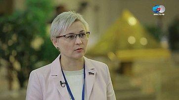 Л. Бокова осоздании единого информационного пространства Беларуси иРоссии