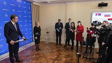 Встреча Председателя СФ сПрезидентом Сербии
