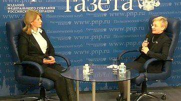 Людмила Бокова приняла участие впресс-конференции «Как дать отпор хакерским атакам?» впресс-центре «Парламентской газеты»