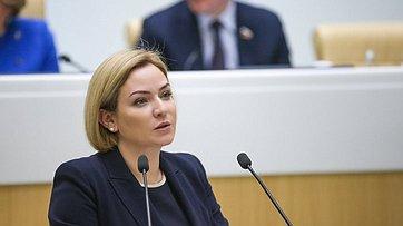 Выступление Министра культуры Российской Федерации Ольги Любимовой на500-м заседании Совета Федерации