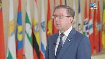 А. Майоров обитогах весенней сессии 2017года вСовете Федерации