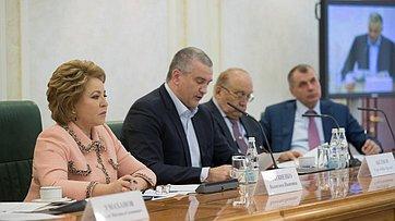 Выступление В. Матвиенко назаседании Организационного комитета III Международного Ливадийского форума